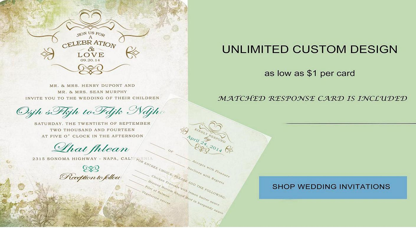 Unique Wedding Invitation Online