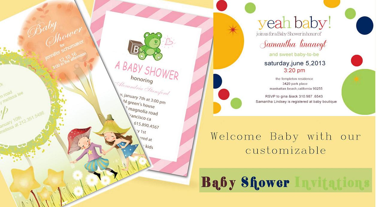 Shop Baby Shower Invitations at happyinvitation