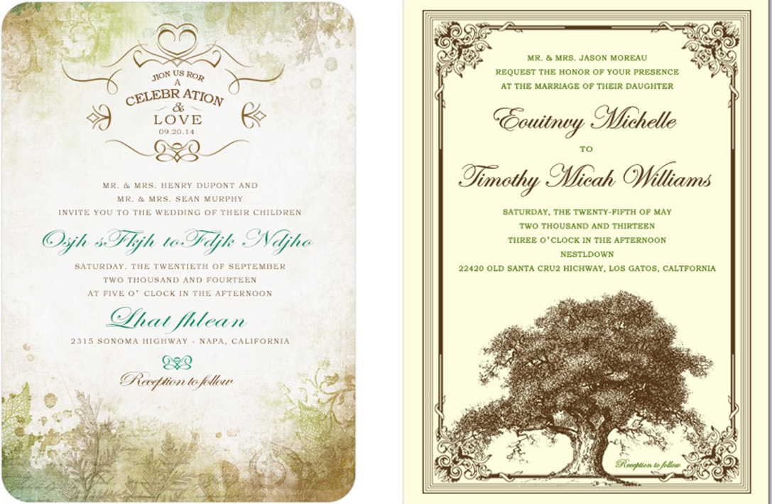Shop Wedding Invitations for Wedding Party