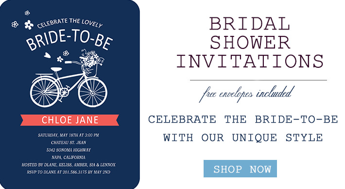 Bridal Shower Invitations in trends